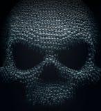 Cranio fatto di piccoli crani illustrazione vettoriale