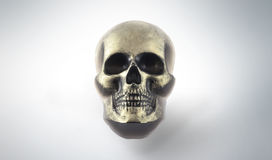 Cranio fatto a mano del sapone Fotografia Stock Libera da Diritti