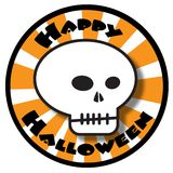 Cranio felice di Halloween illustrazione vettoriale