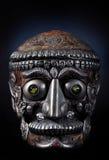 Cranio tibetano dell'uomo Immagini Stock