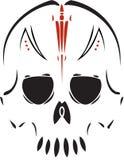 Cranio tribale Fotografia Stock