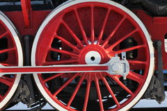 Crank locomotive Stock Photography