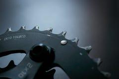 Crankset brukstyp 104BCD Fotografering för Bildbyråer