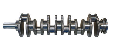 Crankshaft from engine car Royalty Free Stock Image