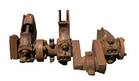Crankshaft engine steam ship Stock Photography
