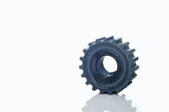 Crankshaft sprocket gearbox component Stock Photo