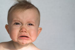 Cranky Baby Stock Photo