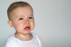 Cranky Baby Royalty Free Stock Photography
