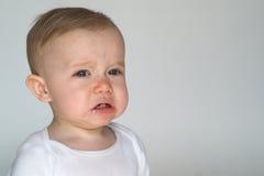 Cranky Baby Stock Image