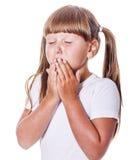 Cranky girl crying Stock Photo