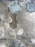 Crannied plaster Stock Photo