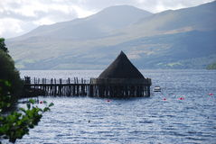 Crannog Centre Stock Photo