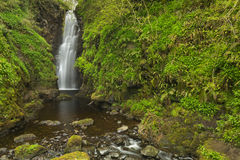 The Cranny Falls in Northern Ireland. The Cranny Falls near Carnlough in Northern Ireland Royalty Free Stock Images