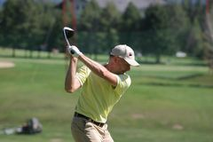 crans 2006 golf masters Montana remesy Fotografia Royalty Free