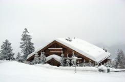 Crans montana Foto de Stock Royalty Free