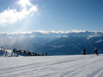 Crans montana Royalty Free Stock Photos