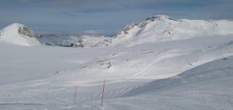 crans Montana góry Zdjęcie Stock