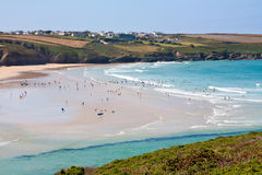 Crantock Beach Royalty Free Stock Images