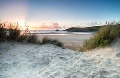Crantock Beach Stock Photography