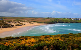 Crantock North Cornwall England UK near Newquay Stock Image