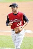 Cranton Wilkes Barre Railriders' Thomas Neal #24 Stock Photos