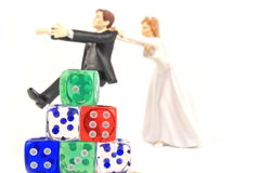 crap βλαστός γάμου Στοκ Εικόνες