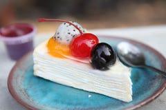 Crape cake Royalty Free Stock Photo