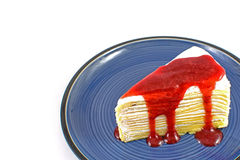 Crape cake Royalty Free Stock Photos