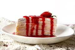 Crape Cake Royalty Free Stock Image