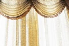 Crape curtain Stock Photos