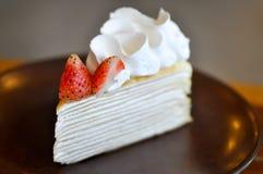 Crape tort lub krepa tort zdjęcia stock