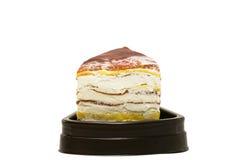Crape tort odizolowywający na białym tle Obraz Stock