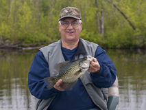 Crappie Fishing Royalty Free Stock Photos