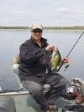 Crappie Fishing Stock Photo