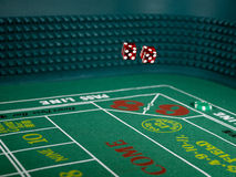 Craps Casino Game Stock Photos