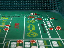 Craps Casino Game Stock Images
