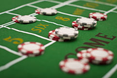 Craps Royalty Free Stock Photos