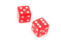 Craps Dice 1 stock photo