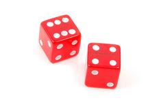Craps Dice 1 stock photography