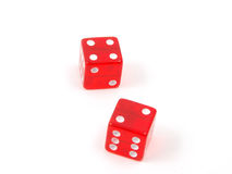Craps Dice 13 stock photography