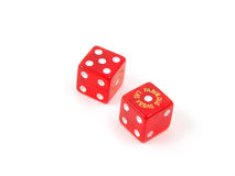 Craps Dice 14 stock image