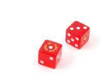 Craps Dice 17 royalty free stock photo