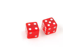 Craps Dice 5 stock photos