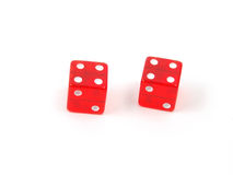 Craps Dice 6 royalty free stock image