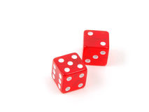 Craps Dice 7 royalty free stock photos