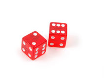 Craps Dice 8 royalty free stock image