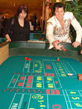 Craps With Elvis 6 royalty free stock photos