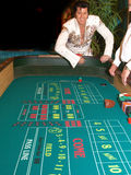 Craps met Elvis 4 Stock Foto's