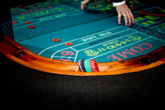 Craps Table Stock Photography