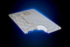 Craquement de crédit photographie stock